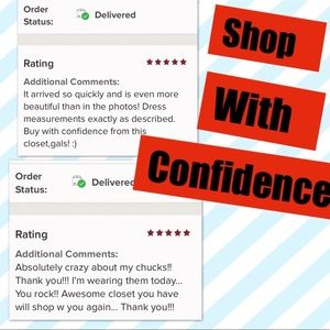 Five Star Tiffany's Closet Shop With Confidence
